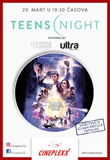 TEENS NIGHT READY PLAYER ONE